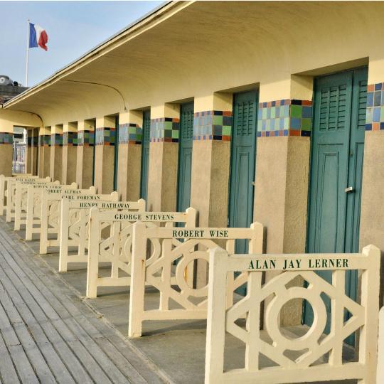 De badplaats Deauville