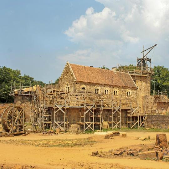 Guedelon Medieval Site