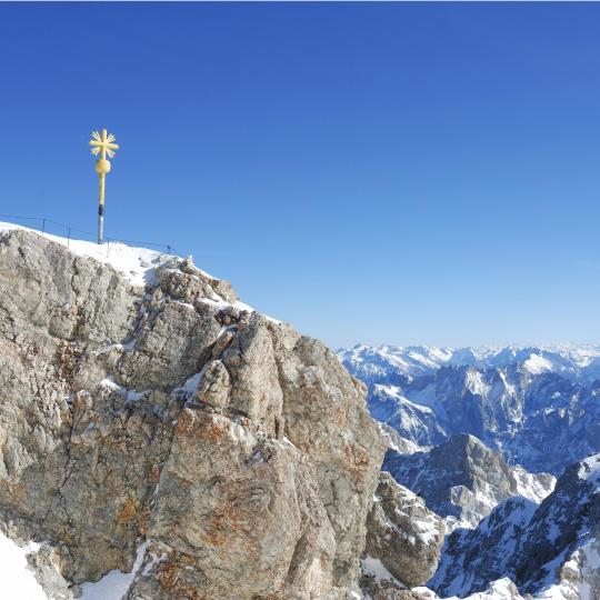 Sci e sport invernali sullo Zugspitze