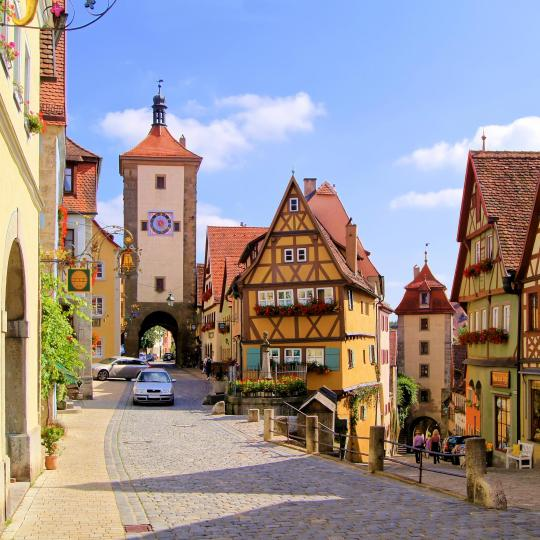 Historisch centrum van Rothenburg