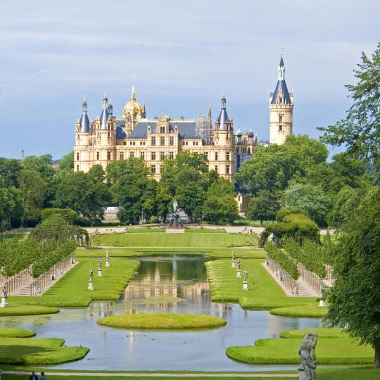 Schwerin Castle, Park and Lake