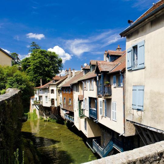 Arbois, de waterhoofdstad van Jura