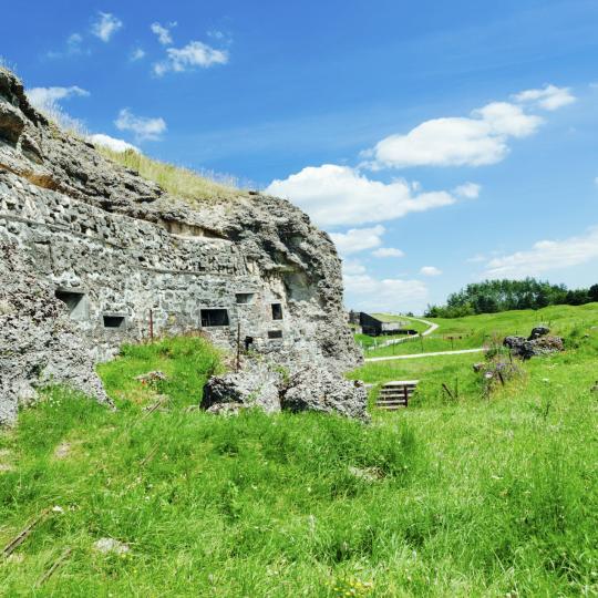 Die unterirdische Zitadelle in Verdun