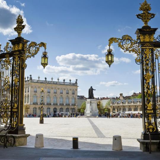 Der Place Stanislas in Nancy
