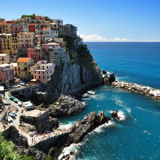 Walking trail sa Cinque Terre