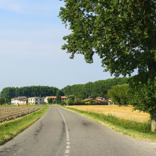 Cycling along the Via Francigena pilgrimage route