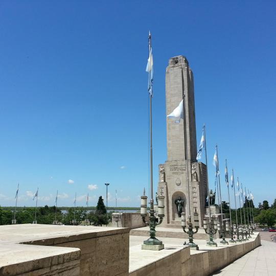 National Flag Memorial in Rosario