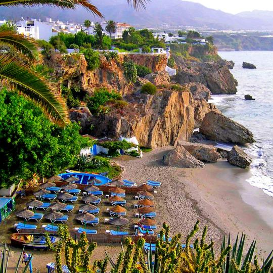 Strand Playa de Maro