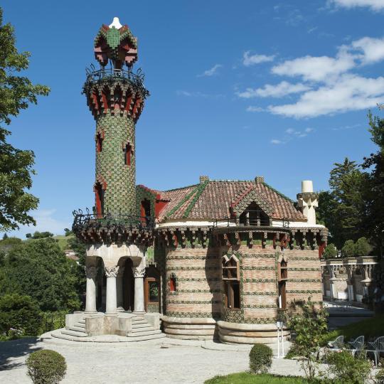 Gaudís Villa Quijano in Comillas
