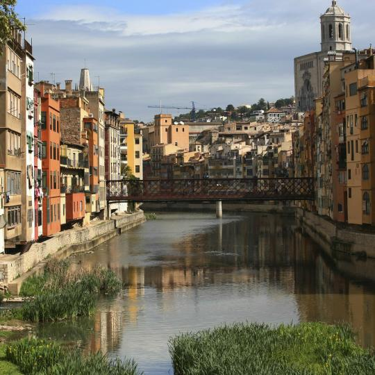 Girona's old town