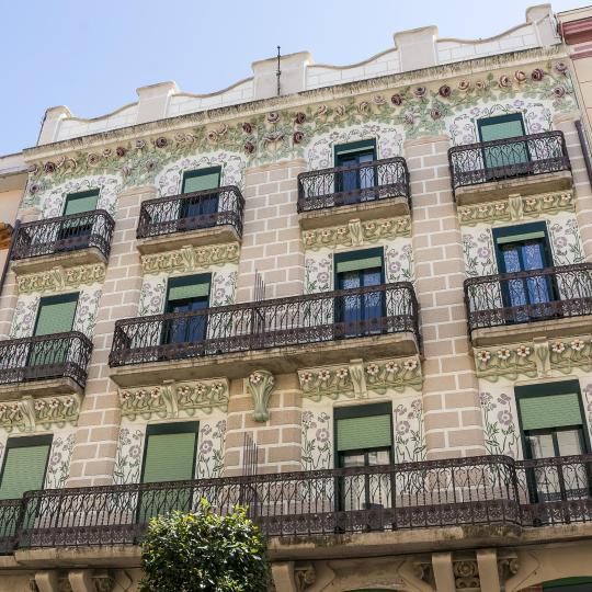 Katalanische Architektur der Moderne in Reus