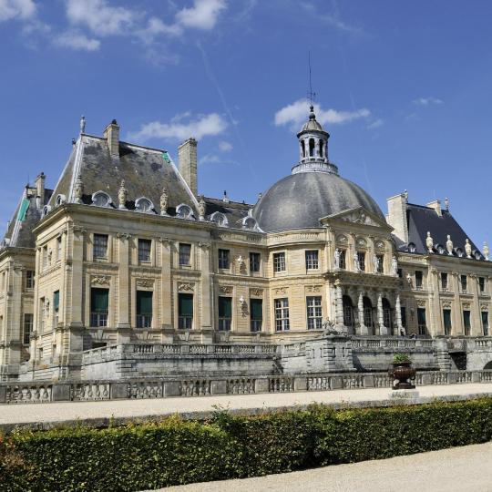 Eine Tour bei Kerzenschein durch das Schloss Vaux-le-Vicomte