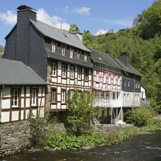 Monschaus Fachwerkhäuser bewundern