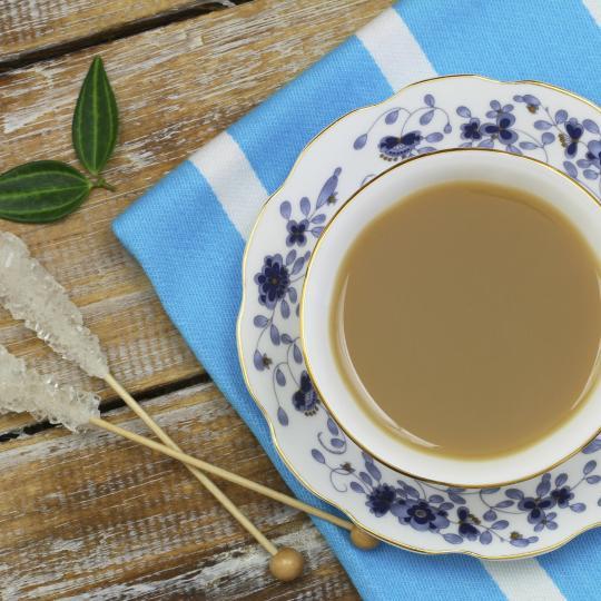 Im charmanten Greetsiel Tee genießen