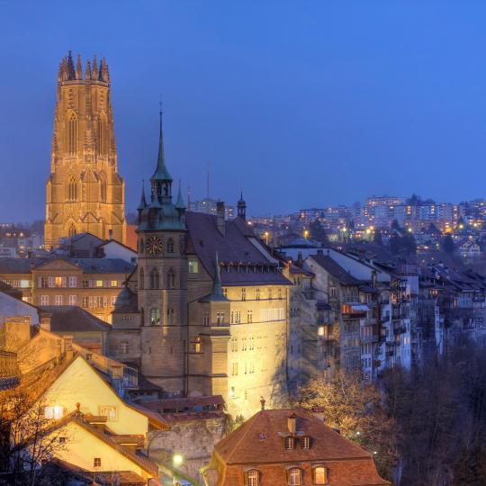La movida notturna della città universitaria di Freiberg