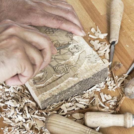 L'arte dell'intaglio del legno a Gröden