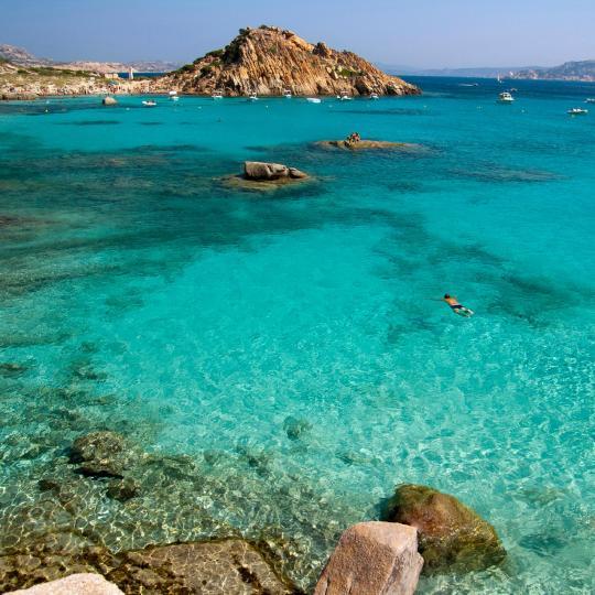 A Maddalena-szigetek