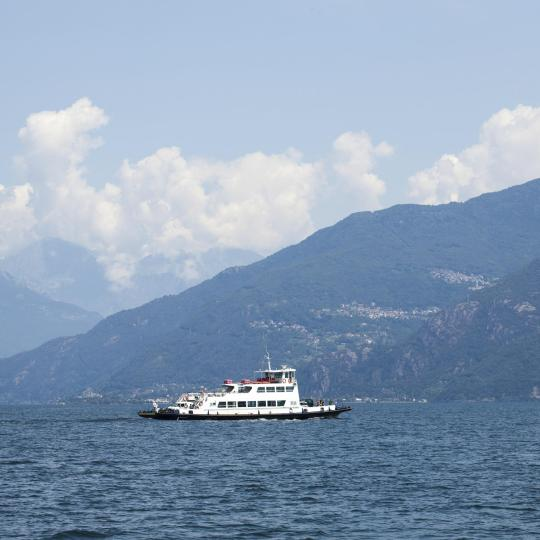 Soak up the sights of Lake Como by ferry