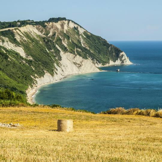 Horse riding along the Conero Coast