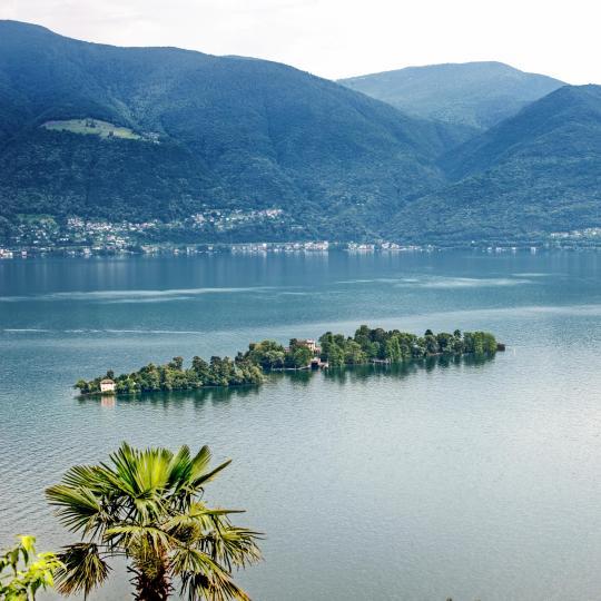 Las islas de Brissago en el lago Maggiore