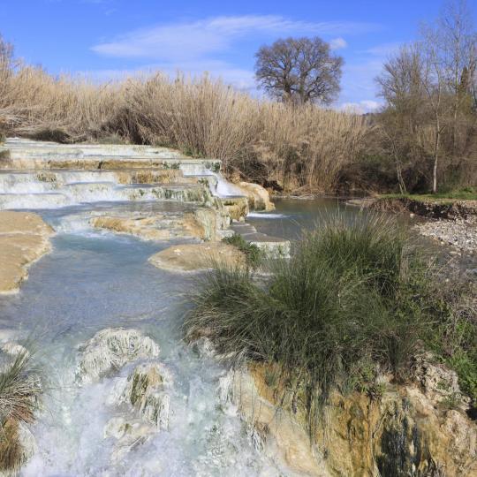 Heiße Quellen in Saturnia - kostenlos