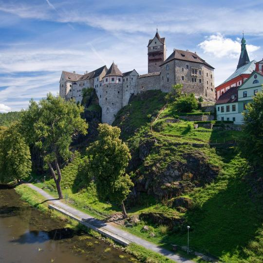 Visit the region's Gothic castles