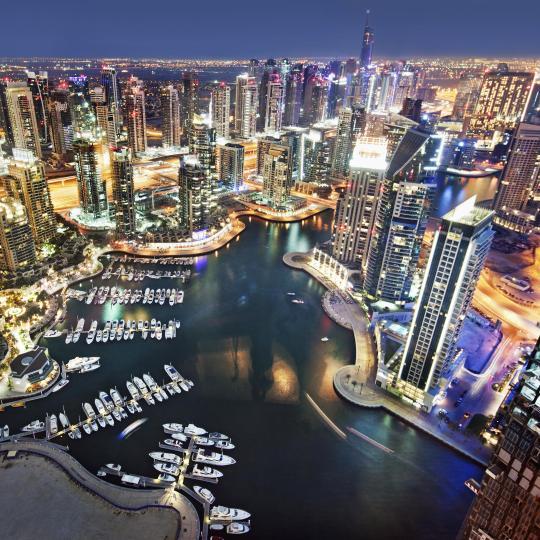 Saunter down Dubai Marina