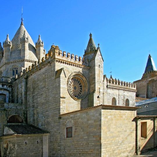 Évora historic city centre