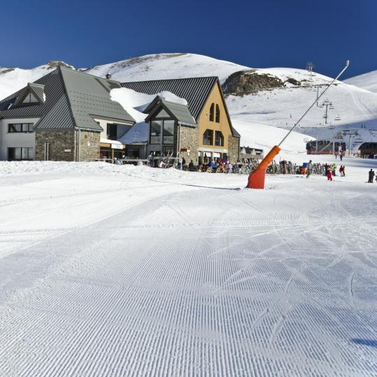 Skiing in Saint-Lary-Soulan