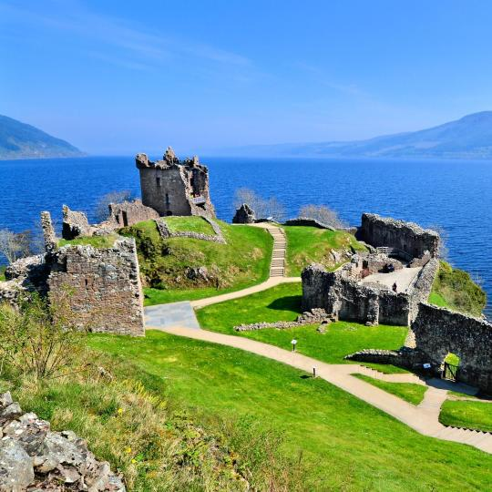 Loch Ness and Highland scenery