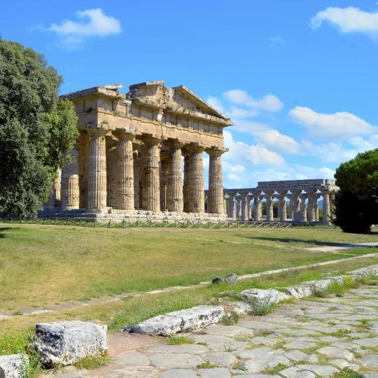 Ancient ruins of Paestum