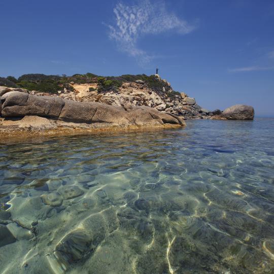Crystal clear waters meet Sardinian cuisine at Cala Sinzias