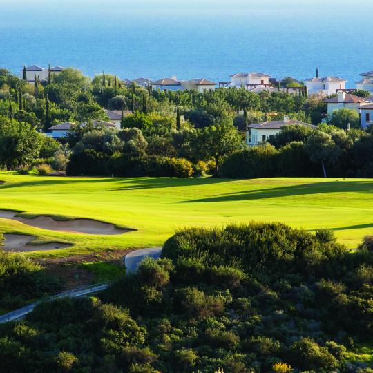 First-rate golfing around Paphos