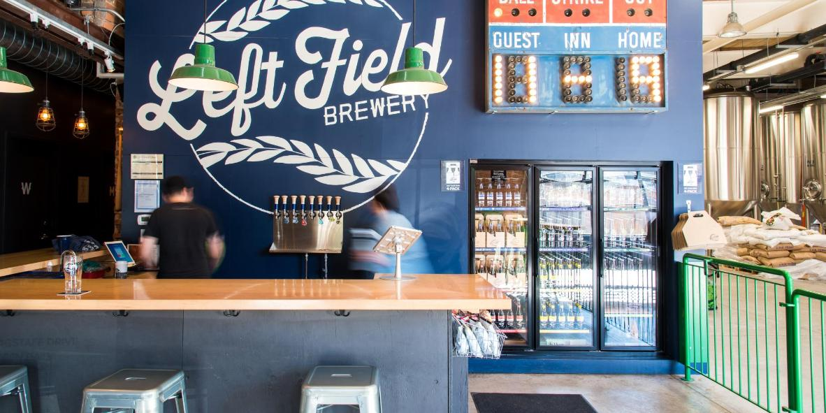 Left Field's baseball-themed beers are all about 'great taste and good times'