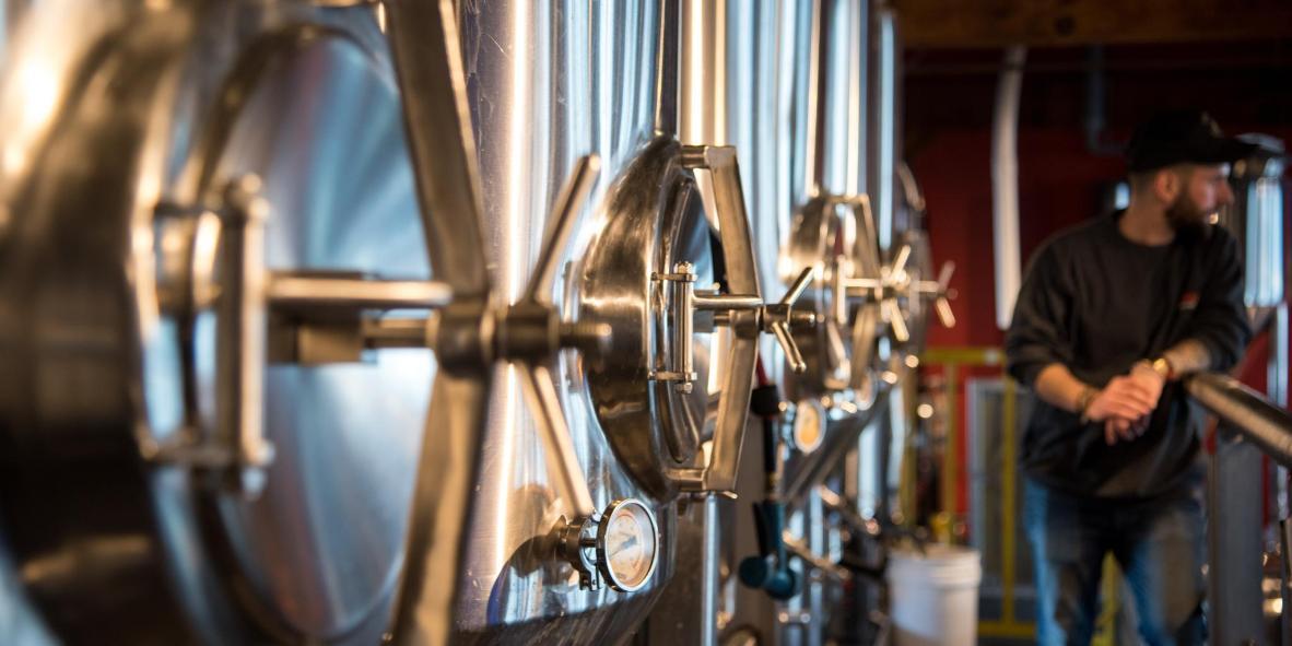 Many best-selling beers begin life as experimental brews in vats behind the bar
