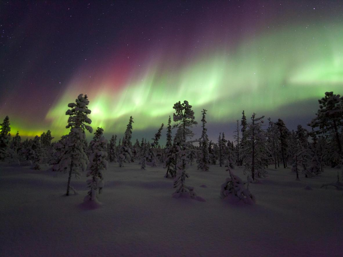 The best places to see the northern lights are far away from city lights
