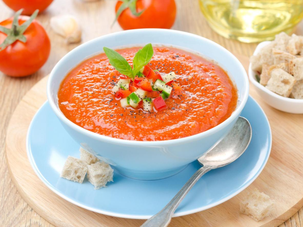 A thirst-quenching cold soup for hot summer days