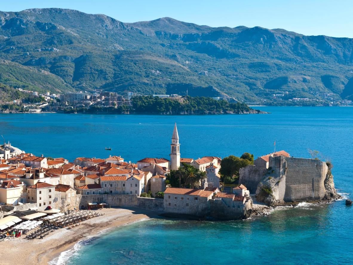 You won't have to fight for a spot on Budva's beaches in the fall