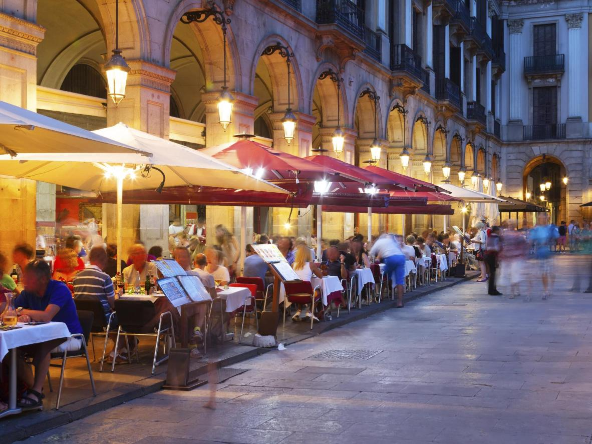 You may need a jacket in the evenings, but autumn days in Barcelona are warm