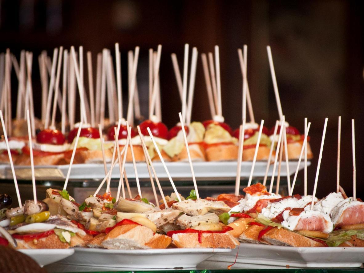 Los amantes de la comida acuden a Barcelona en octubre, ya que la cosecha significa un exceso de productos frescos para disfrutar