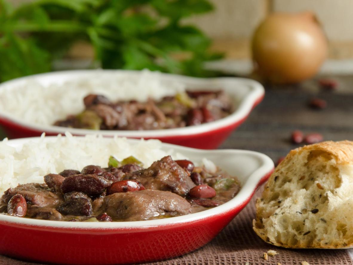 A jam-packed Southern-style stew