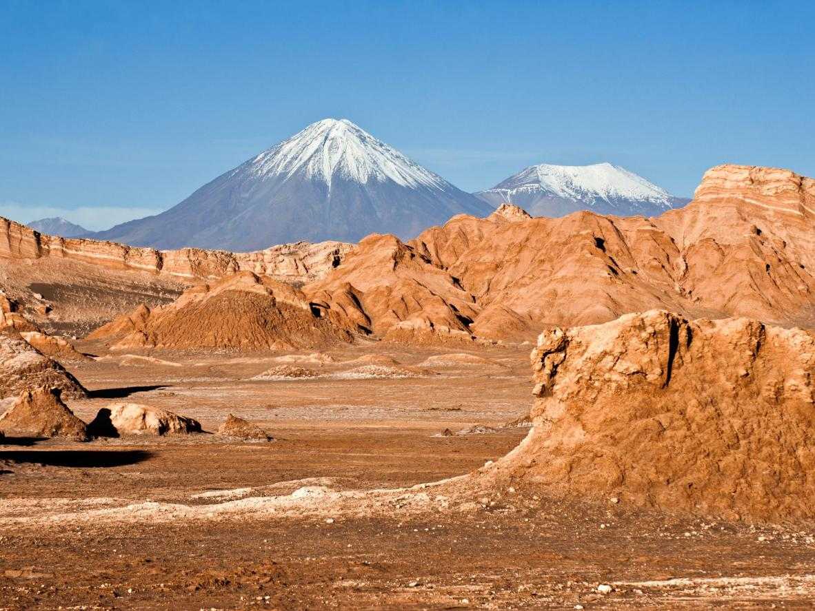 Some parts of the Atacama Desert haven't seen rain since humans started measuring it centuries ago