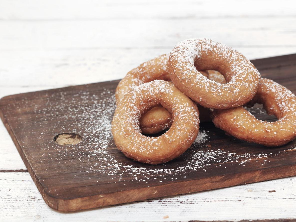 A heavenly spin on the traditional doughnut