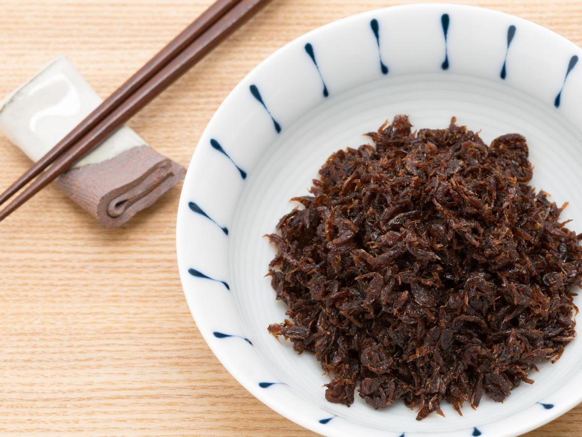 A potent condiment to perk up plain rice