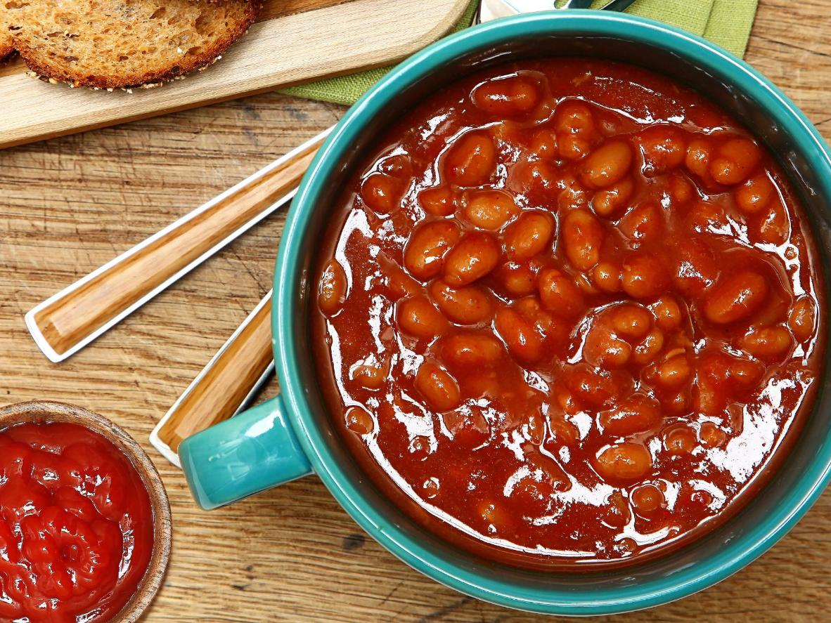 A tomato-based accompaniment and breakfast-time staple