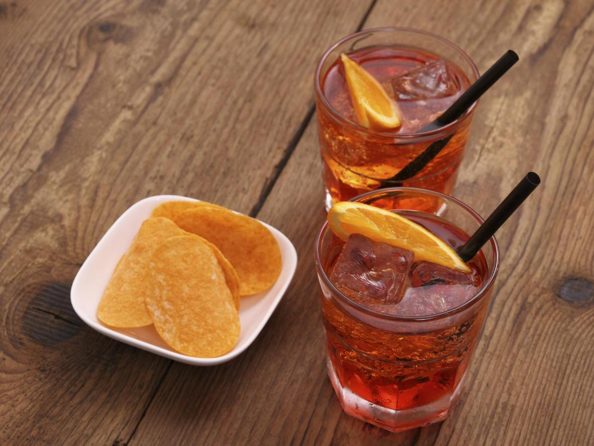An early-evening refreshment that's part of Italian routine