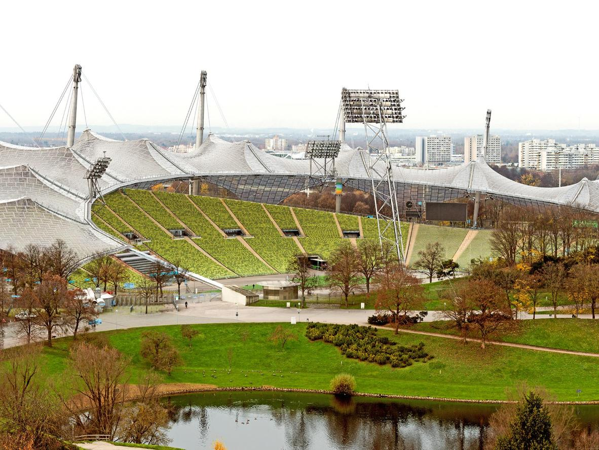 See Munich's 1972 Summer Olympics stadium from a different angle