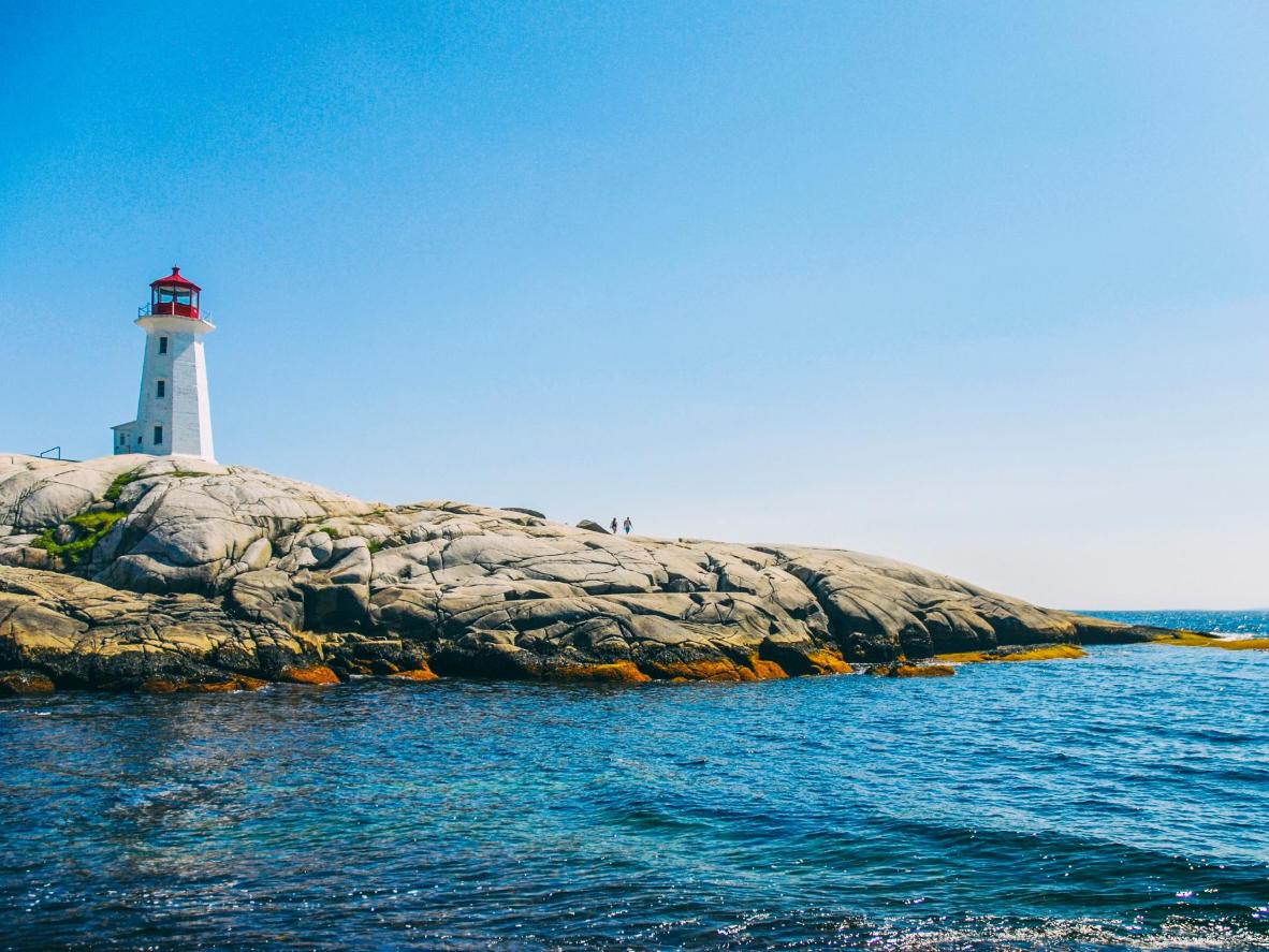 Lighthouses, rocky coves and tiny fishing boats are perfect for posing