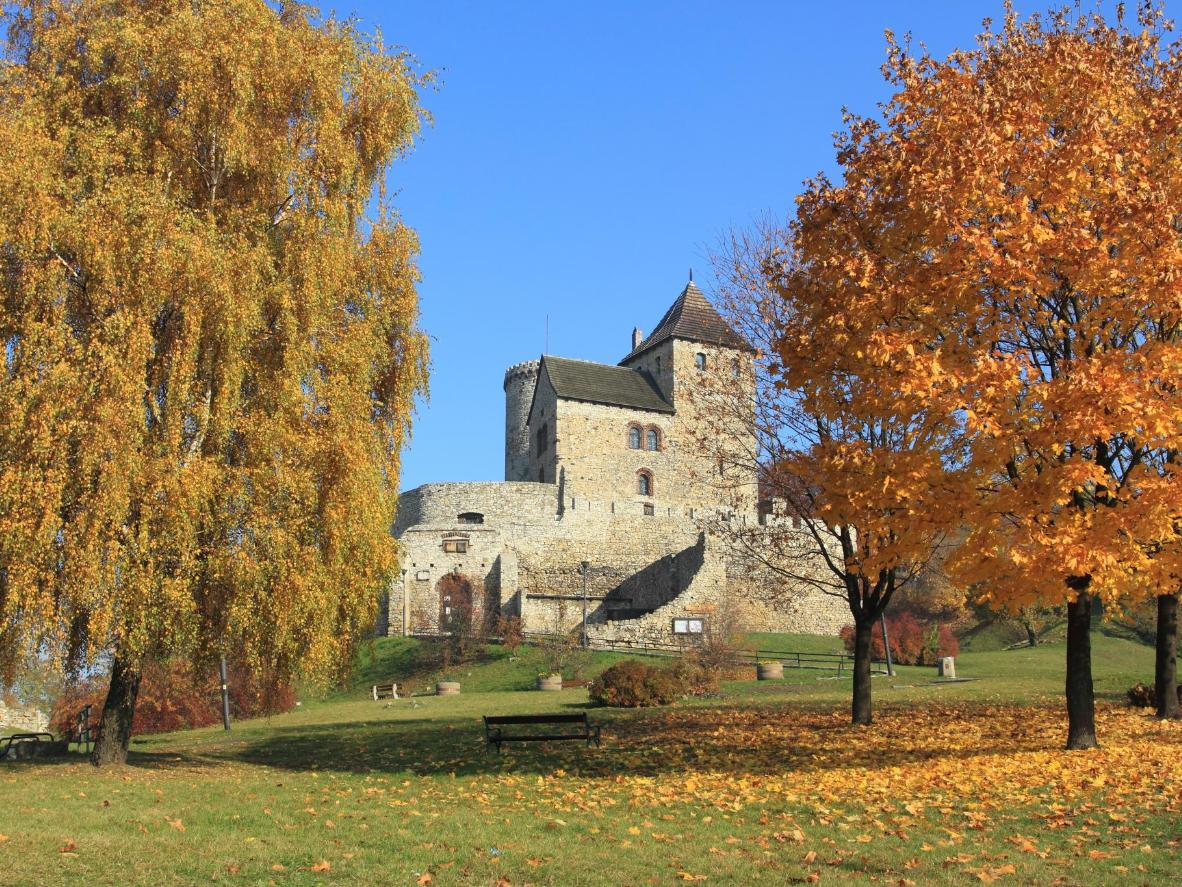 The Royal Castle in Będzin, Poland