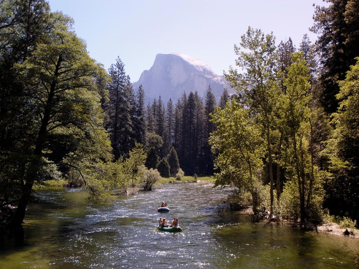 River boat trips are available in warm weather